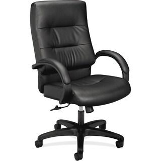 Basyx by HON HVL691 Executive High-back Chair - Black