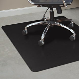 ES Robbins TrendSetter Hard Floor Chair Mat - Black