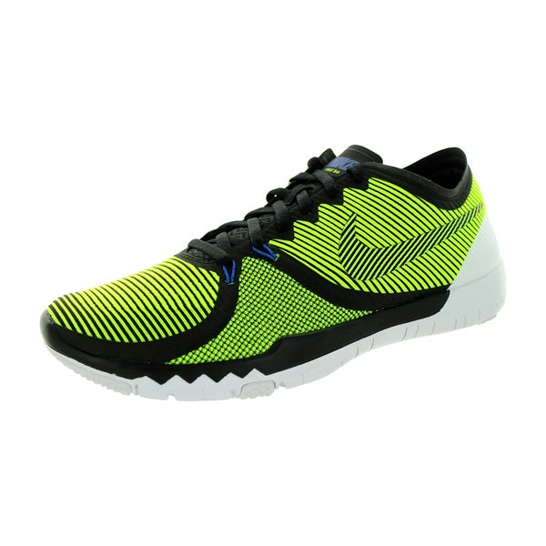 aeab01685e0d6 Shop Nike Men s Free Trainer 3.0 V4 Black Volt Cactus White Training ...