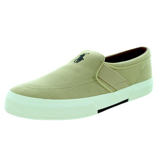 Polo Ralph Lauren Men's Faxon Slipon Khaki Casual Shoe