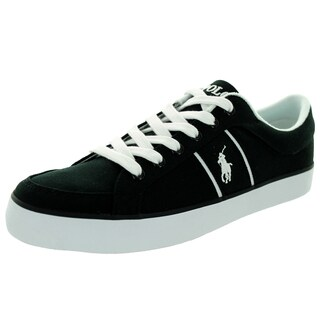 Polo Ralph Lauren Men's Bolingbrook Black/White Casual Shoe