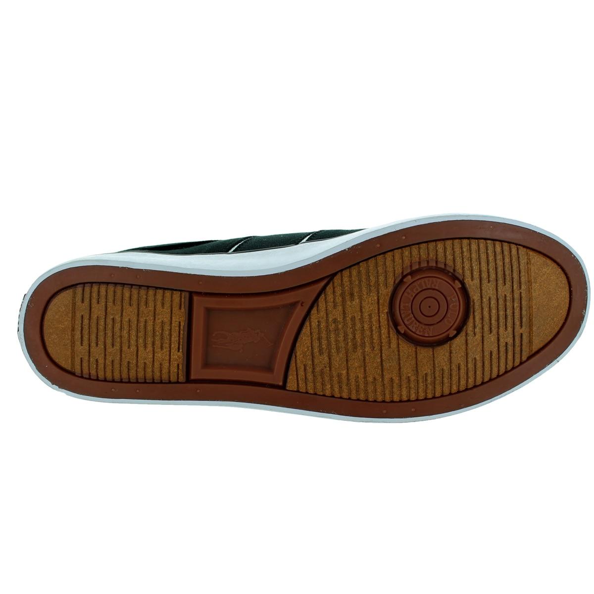 Polo Lauren Shoe Ralph Bolingbrook Casual Men's Blackwhite XiPkuZO