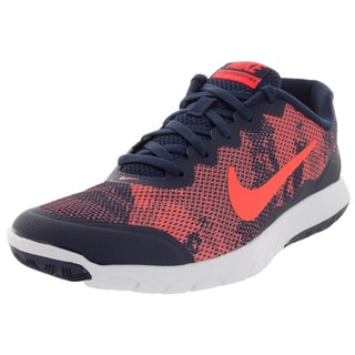 Nike Men's Flex Experience 4 Prem Orange/ Orange/Midnight Navy Running Shoe