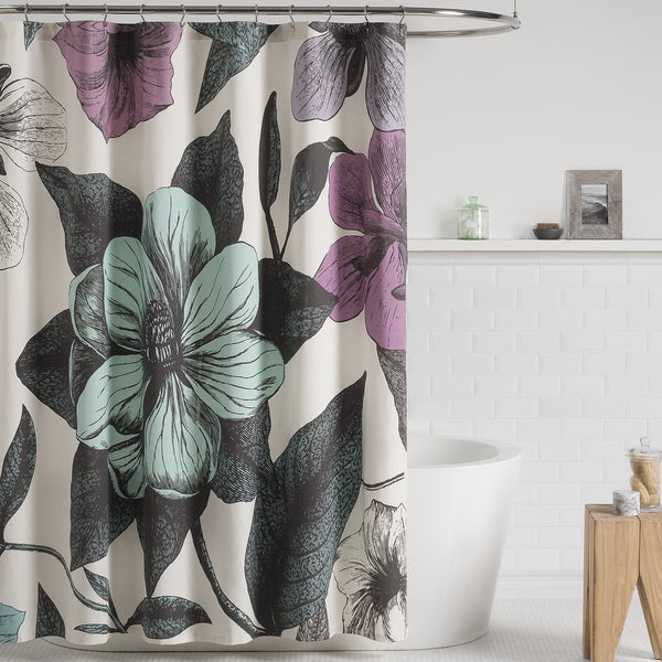 Shop Seedling by Thomas Paul Botanical Shower Curtain - Free ...