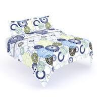 Porch & Den Uptown Panola Oversized Geometric Floral Quilt Set