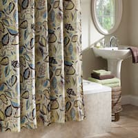 Excell Jacobean Leaf Shower Curtain