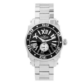 Aquaswiss Unisex 62G0076 Black/Silver Swissport G Watch
