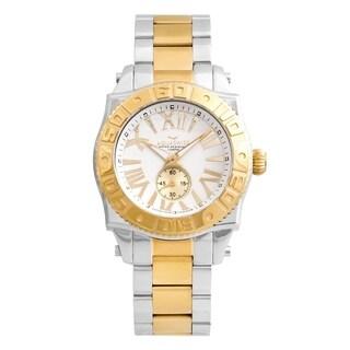Aquaswiss Unisex 62G0074 Rosegold/Silver Swissport G Watch