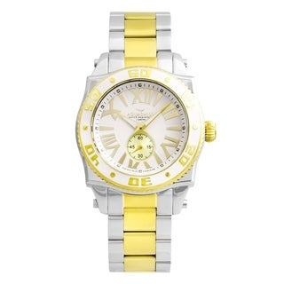 Aquaswiss Swissport G 62G0126 Gold/Silver Stainless Steel/Sapphire-coated Mineral Unisex Watch