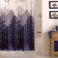 "Excell ""Misty Mountain"" Shower Curtain"