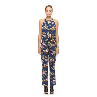 Walter Baker Women's Laurel Multicolor Polyester Jumpsuit
