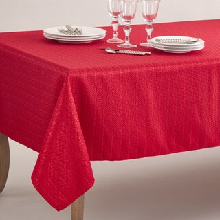Gloria Collection Stitched Design Tablecloth