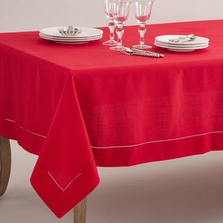 Rochester Collection Tablecloth with Hemstitched Border