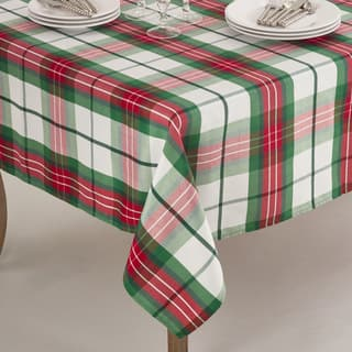 Vernor Collection Plaid Design Holiday Tablecloth|https://ak1.ostkcdn.com/images/products/12121481/P18981128.jpg?impolicy=medium