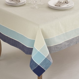 Palmaria Collection Plaid Design Tablecloth