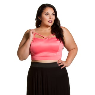 Sealed with a Kiss Women's Plus Size Belinda Crop Tank