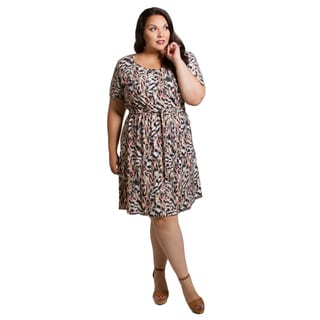 Sealed with a Kiss Women's Plus Size Megan Dress