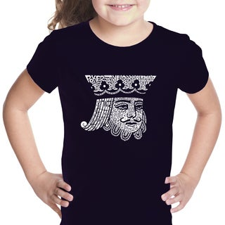 Girls' King of Spades Cotton T-shirt