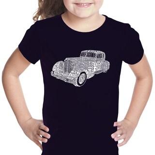 Los Angeles Pop Art Girls' Mobsters Cotton T-shirt