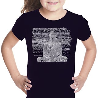 Girls' Zen Buddha Cotton T-shirt