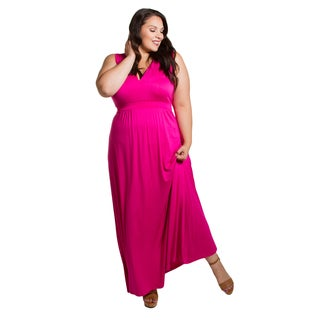Sealed with a Kiss Women's Plus Size Bonnie Maxi Dress