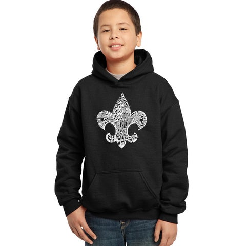 Boys' 12 Points of Scout Law Cotton/Polyester Hooded Sweatshirt