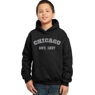 Boys' 'Chicago Est. 1837' Hooded Sweatshirt