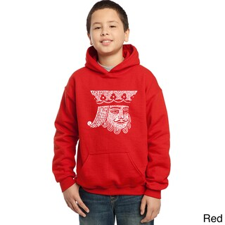 Los Angeles Pop Art Boys' King of Spades Cotton/Polyester Hooded Sweatshirt (More options available)