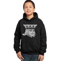 Los Angeles Pop Art Boys' King of Spades Cotton/Polyester Hooded Sweatshirt