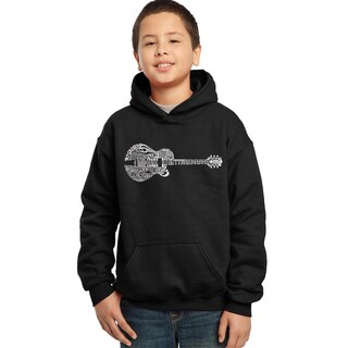 Los Angeles Pop Art Boys' 'Country Guitar' Hooded Sweatshirt