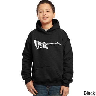 Los Angeles Pop Art Boys' Master of Puppets Hooded Sweatshirt (More options available)