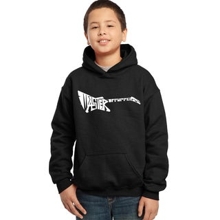 Los Angeles Pop Art Boys' Master of Puppets Hooded Sweatshirt