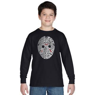 Los Angeles Pop Art Boys Slasher Movie Villians Multicolor Cotton Long-sleeve T-shirt|https://ak1.ostkcdn.com/images/products/12121567/P18981183.jpg?impolicy=medium