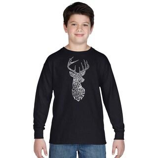 Los Angeles Pop Art Boys' Types of Deer Multicolor Cotton Long Sleeve T-shirt|https://ak1.ostkcdn.com/images/products/12121573/P18981187.jpg?_ostk_perf_=percv&impolicy=medium