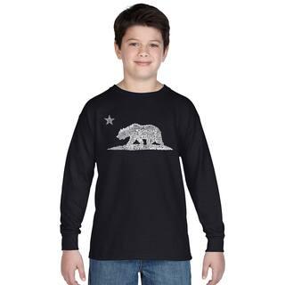 Los Angeles Pop Art Boy's Cotton Graphic Long Sleeve T-shirt|https://ak1.ostkcdn.com/images/products/12121581/P18981193.jpg?impolicy=medium