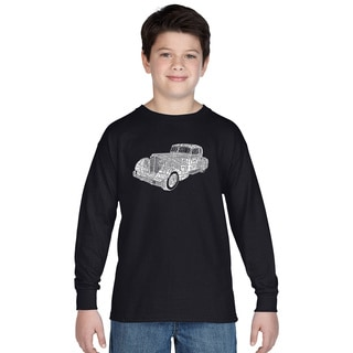 Los Angeles Pop Art Boys' Mobsters Long-sleeved T-Shirt