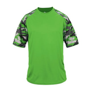 Camo Sport Youth Lime Camouflage T-Shirt