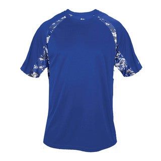Digital Boys' Hook Royal Polyester T-shirt