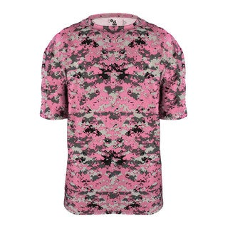 Digital Youth Pink Polyester T-shirt