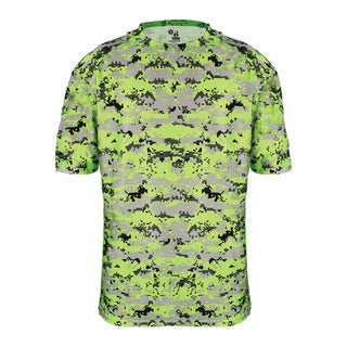 Digital Boys' Lime Polyester T-shirt