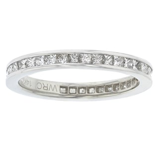Women's 14k White Gold 1.0 CTW Eternity Band