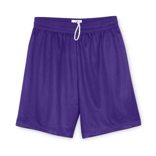 Youth Purple 6-inch Mini-Mesh Shorts