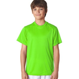 B-Core Youth Lime Performance T-Shirt