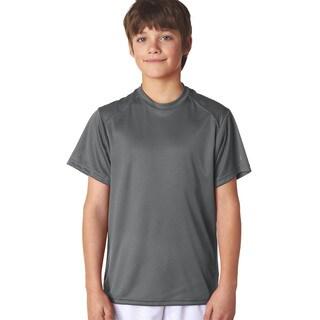 B-Core Boys' Performance Graphite Polyester T-shirt