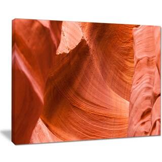 Antelope Canyon Details - Landscape Photo Canvas Art Print