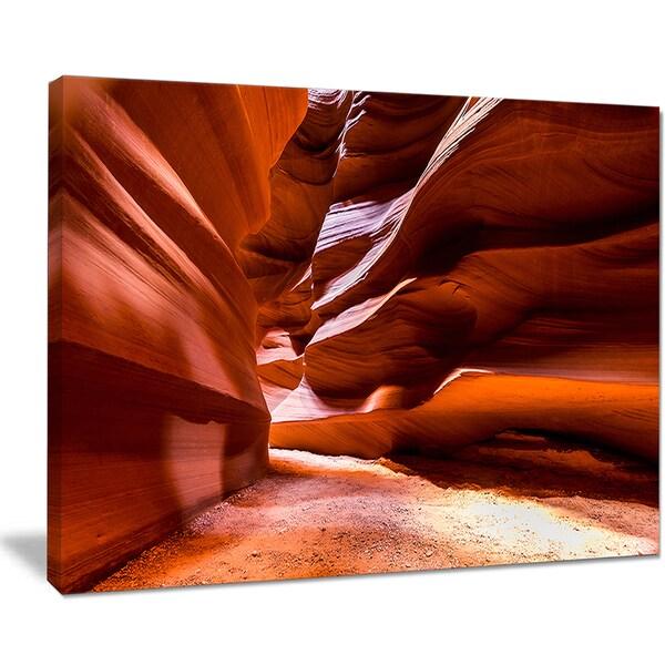 Breathtaking Antelope Canyon - Landscape Photo Canvas Art Print