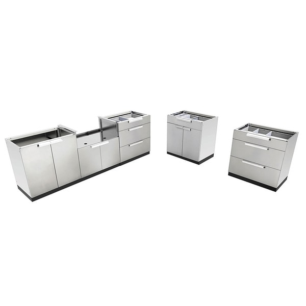 Attrayant NewAge Products Stainless Steel Outdoor Kitchen Cabinets
