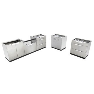 NewAge Products Stainless Steel Outdoor Kitchen Cabinets