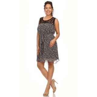 Hadari Woman' Plus size Floral Dress