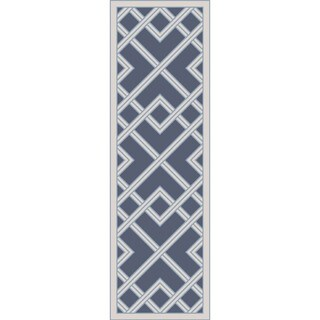 Hand Woven  Viscose Rug (2'6 x 8')